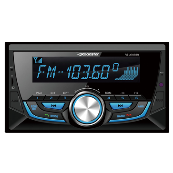 Auto Radio 2 din Roadstar Rs3707Br C/ Bluetooch