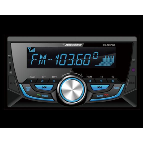 Auto Radio 2 din Roadstar Rs3707Br C/ Bluetooch