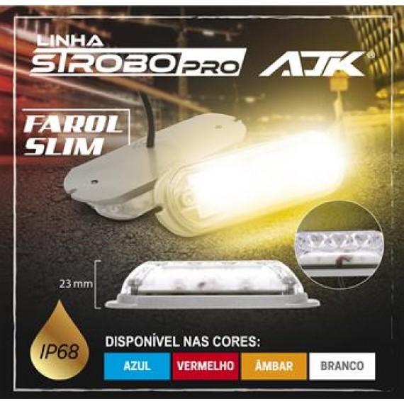 Farol Strobo Pro Slim 2 Unidades