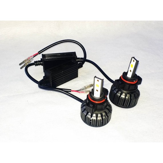 Lampadas de led h16 turbo 9000 lumens