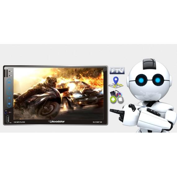Multimidia Roadstar Rs707br Mp7  Tv Digital e Gps