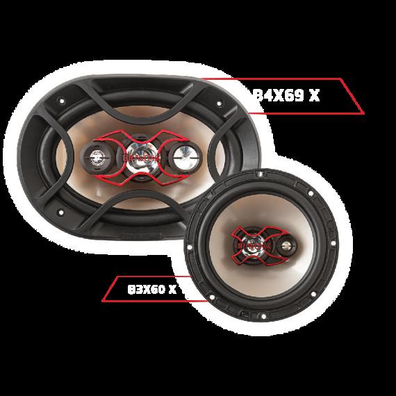 kit facil  bravox  B4X69 X + B3X60 X