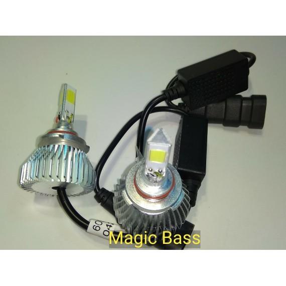 Lampadas de leds HB3  3D 7200 Lumens 6000k