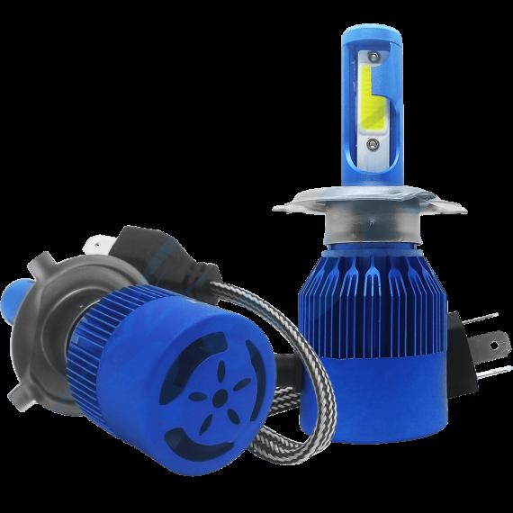 Lampadas de led H4 ( Alta e Baixa )   light 6400 lumens