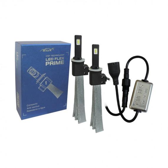 Lampadas de led H3  flex prime  C/ canceller  6400 lumens